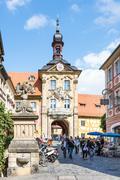 Altes Rathaus of Bamberg - stock photo