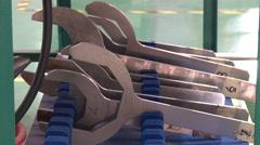 Factory equipment, Xiamen, China Stock Footage