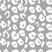 Leopard print pattern. Repeating seamless vector animal background Stock Illustration