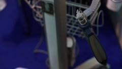 Medical Ventilation Apparatus Stock Footage