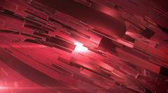 Beautiful Red 3d abstract background. - stock illustration