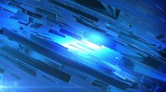 Beautiful Blue 3d abstract background. - stock illustration