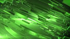Beautiful Green 3d abstract background. - stock illustration