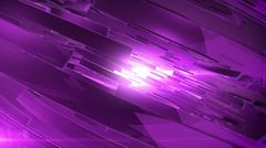 Abstract 3D background with lens flare. - stock illustration