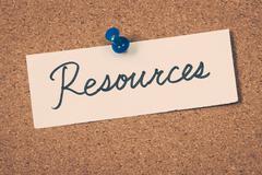 resources - stock photo