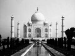 Taj Mahal blurred Stock Photos