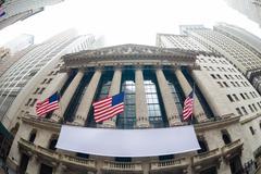 New York Stock Exchange. Kuvituskuvat