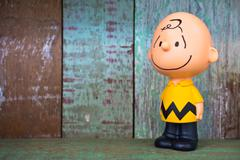 Charlie Brown figure toy Stock Photos