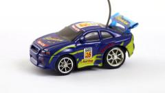Remote controlled toy car - stock footage