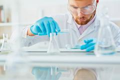 Scientific investigation Stock Photos