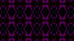 Color Tech Lines 4K Vj Loop 05 Stock Footage