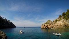 Mallorca Paradise Bay Stock Footage
