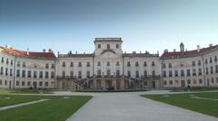 Palace Fertöd Esterhazy (Austria-Hungary) Stock Footage
