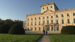 Palace Fertöd Esterhazy (Austria-Hungary) - stock footage