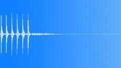 Silenced Gun Shot 9 Rapid - sound effect