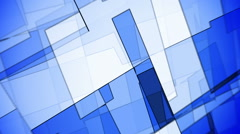 Abstract blue futuristic motion background seamless loop Stock Footage