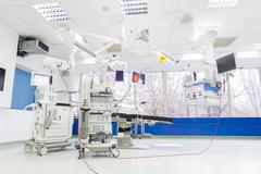 Surgery room empty Stock Photos
