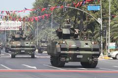 30 August Turkish Victory Day - stock photo