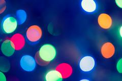 Bokeh Background.  Holiday glowing Abstract Defocused Background With Blinking Stock Photos