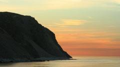 Rapid Bay Edge Timelapse - stock footage