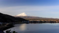 4K Timelapse video of the scared mountain - Mount Fuji Stock Footage