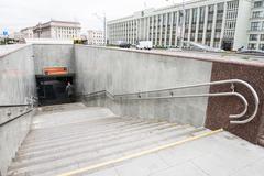 Lenin Square Metro Station - stock photo