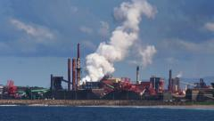 Wollongong Steelworks Stock Footage