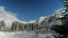 Snoqualmie Pass, Mountain Pass, Mountains Stock Footage