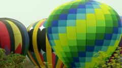 Balloon Pan Wide Stock Footage