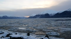Cook Inlet Turnagain Arm Stock Footage
