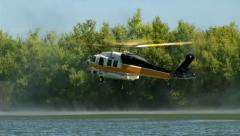 Firehawk Helicopter Refills - stock footage