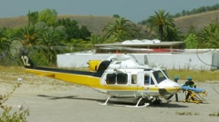 Rescue Heliocopter Stretcher 2 Stock Footage