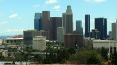 LA Skyline 2 Stock Footage