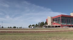 External of Race Track Stock Footage