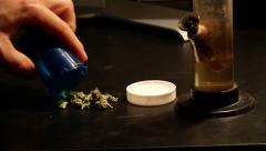 Prescription Marijuana Stock Footage