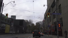 Queen Street West, Toronto Stock Footage