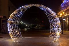 Christmas arch - stock photo