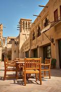 Madinat Jumeirah hotel. - stock photo