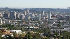 Glendale Skyline Stock Footage