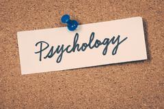 psychology - stock photo