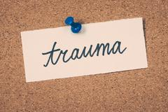 trauma - stock photo