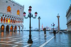 San Marco square in Venice - stock photo