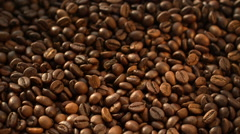 Coffee Beans Flying at Slow Motion 1500fps Stock Footage