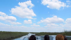 A Trip In The Florida Everglades Stock Footage