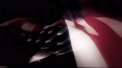 The American flag blows in the wind - Old Glory 0103 HD, 4K - stock footage