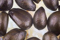 Annona fruit seeds - stock photo