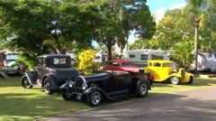 Hot Rods - stock footage