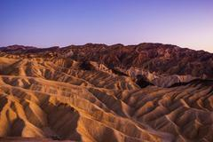 Death Valley National Park Scenic Landscape. - stock photo