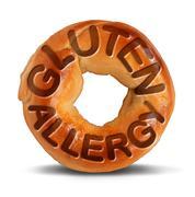 Gluten Allergy Symbol - stock illustration