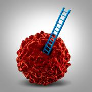 Cancer Research Symbol - stock illustration